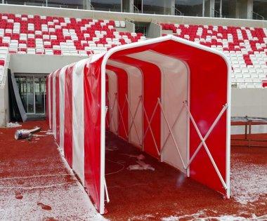 Futbolcu Çıkış Tüneli